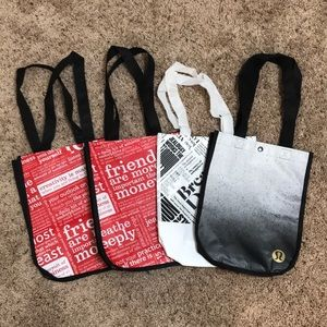 Lululemon tote bag bundle